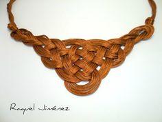 DIY COLLAR CON NUDO CELTA DE LA REINA GINEBRA . COLLAR GUINEVERE   Raquel Jimenez Bisutería