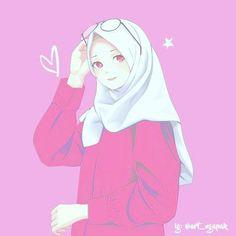 Little girl sketch Wallpaper Hp, Cartoon Wallpaper, Kawaii Anime, Anime Art Girl, Anime Girls, Hijab Drawing, Islamic Cartoon, Hijab Cartoon, Cute Cartoon Girl