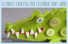 """12 dracs creatius per celebrar Sant Jordi - """"12 dragones creativos para celebrar Sant Jordi"""""""