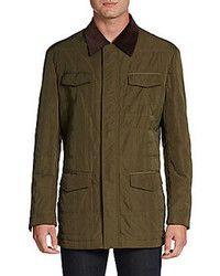 4f348a31880fc Comprar una chaqueta con cuello y botones verde oliva  elegir chaquetas con  cuello y botones verde oliva más populares de mejores marcas