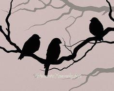 Crooked Spooky Tree Art 8 x 10 Print Custom by NaturesHeavenlyArt, $14.00