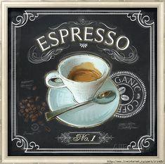Art Print: Coffee House Espresso by Chad Barrett : Coffee Latte, I Love Coffee, Espresso Coffee, Coffee Time, Coffee Shop, Cappuccino Art, House Coffee, Cozy Coffee, Coffee Scrub