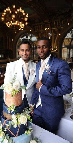 Lgbt Wedding, Wedding Men, Wedding Couples, Wedding Photos, Dream Wedding, Wedding Rings, Lgbt Couples, Cute Gay Couples, Parisian Wedding