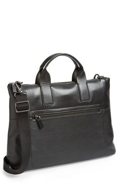 Skagen 'Kruse' Leather Briefcase available at #Nordstrom