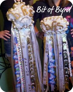 Homecoming Mums: Bling and variations you can do