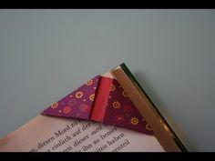 ▶ Origami Bookmark (Corner)- YouTube