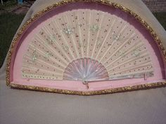 Antique 19th Century Hand Fan from France