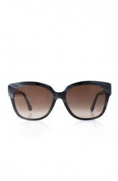 Balenciaga - Black Horn Sunglasses (BA0015)