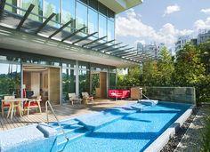 Singapore Sentosa Cove Suite Pool
