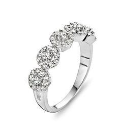 da51eb12a Velini Womens Ring 925 Sterling Silver Cubic Zirconia >>> Visit the