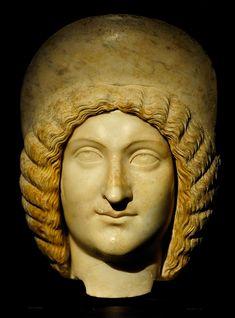 Julia Domna. Marble. 193-210 CE. Inv. No. I 47. Vienna, Museum of Art History