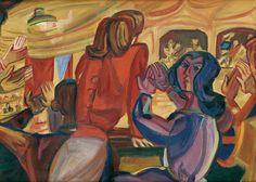 Pravoslav Kotík (1889 – 1970) | Encyklopedie autorů | CREATIVO a.s. Cubism, Surrealism, Charms, Artists, Painting, Women, Painting Art, Paintings, Painted Canvas
