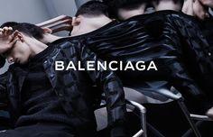 AD CAMPAIGN Balenciaga Men's Spring/Summer 2014 Feat. Chamberlain by Josh Olins