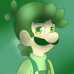 Luigi Green by on DeviantArt Mario Fan Art, Mario Bros., Super Mario Brothers, Super Mario Bros, Mario And Princess Peach, Nintendo World, Paper Mario, Super Mario World, Art Story