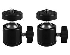 MDW 2 Pcs Tripod Mini Ball Head for HTC VIVE Base StationlighthousesCamera CamcorderHolder for HTC VIVE ** Be sure to check out this awesome product.