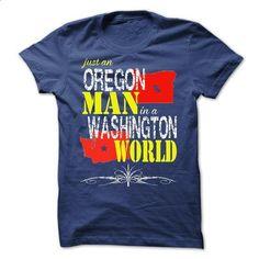 Oregon Man In A Washington World - #tshirt template #tshirt flowers. I WANT THIS => https://www.sunfrog.com/States/Oregon-Man-In-A-Washington-World.html?68278
