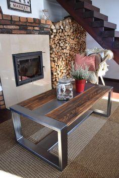 Welded Furniture, Reclaimed Wood Furniture, Steel Furniture, Outdoor Furniture, Modern Industrial Furniture, Rustic Industrial, Rustic Table, Wood Table, Steel Coffee Table