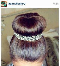 Wedding bun accessory