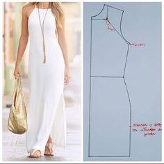Enchanting Sewing Patterns Clone Your Clothes Ideas Fashion Sewing, Diy Fashion, Fashion Dresses, Dress Sewing Patterns, Clothing Patterns, Sewing Clothes, Diy Clothes, Barbie Clothes, Make Your Own Clothes