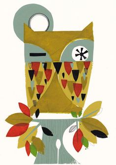 'Autumn Owl' by Holly Roach