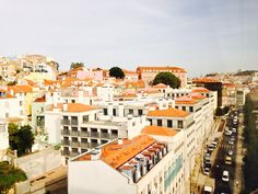 From hotel Mindial, 8th floor. Lisbon
