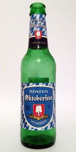Spaten Oktoberfestbier Ur-Märzen  I'm aware this is not a craft beer, but that does not make it any less delicious