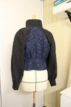 Folk Clothing, Fur Coat, Fall Winter, High Neck Dress, Jackets, Clothes, Dresses, Fashion, Turtleneck Dress