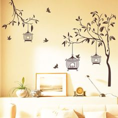 Decorative Wall Stickers For Your House's Interiors 10