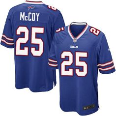 Nike Game LeSean McCoy Royal Blue Youth Jersey - Buffalo Bills #25 NFL Home