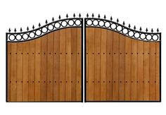 Gates in Cheltenham | Iron and Wood Gate