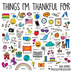 100 Things I'm Thankful For: Part I