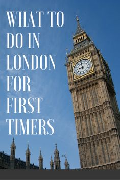 In London for the very first time, short on time, and not really sure what to see or do?  Follow these top 10 sights to plan your trip!