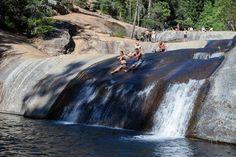 Swimming Holes of California