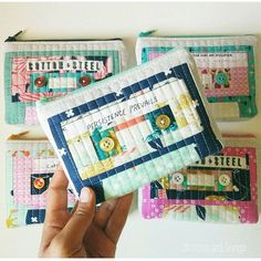 """""""Oh my goodness look at these cassette tape pouches by @london_and_granger! @shop_londonandgranger"""""""