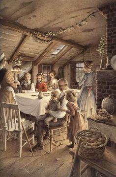 . Christmas Books, Christmas Pictures, Christmas Carol Charles Dickens, Christmas Carol Book, Christmas Past, Merry Little Christmas, Vintage Christmas Cards, Christmas Classics, Christmas Illustration