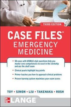 Case Files Emergency Medicine, Third Edition (LANGE Case Files) Used Book in Good Condition Obstetrics And Gynaecology, Medicine Book, Emergency Medicine, Educational Websites, Neurology, Science Books, Pharmacology, Biochemistry, Neuroscience