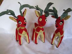 We had some of these, too! Until their antlers fell out...