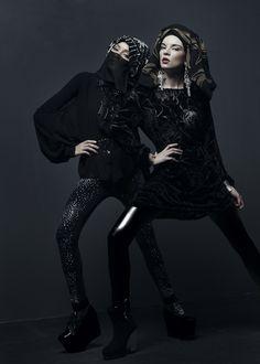 WOMAN INSPIRE, Aquila Magazine, January Issue on Fashion Served