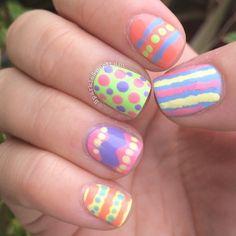 sparklespectrum easter #nail #nails #nailart
