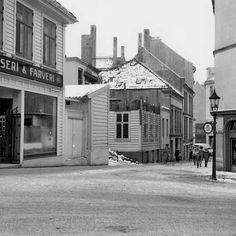 Gamle Nygårdsvei (Svinesund) sett fra Christiesgate. fra marcus.uib.no
