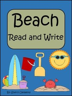 GIVEAWAY - 2 winners - Beach Read and Write - Beach Read and Write - Cute story about the beach with related fill in the blank sentences to check for comprehension. Great introduction to Close Reading! (ends on Beach Reading, Guided Reading, Close Reading, Reading Resources, Classroom Resources, Classroom Ideas, Kindergarten Classroom, Kindergarten Reading, Reading Comprehension Passages