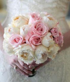 #Wedding #Flowers #Bouquet #Pretty #Elegant #Pastel #Pink #Roses #Ideas #Inspiration