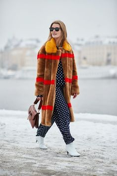 It's true: Scandinavian girls are impeccably stylish. See our street style photos from Stockholm Fashion Week. #StreetFashionStyle