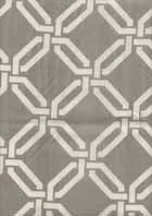 The plan is to cover 2 lampshades (for our bedroom) in this fabric and cover an old piano bench that I'm repainting. I'm thinking 1.5 yards should do it...?