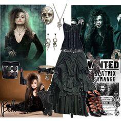 Bellatrix Lestrange, created by blair-granger on Polyvore