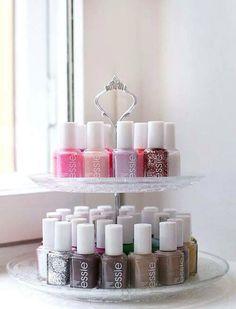 Nail polish diy rack