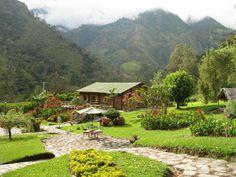 Ibague y el cañon del Combeima, Colombia