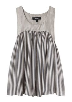 It's a top but scale it up and i think it would look great as a dress... Suno / Yoke Pleated Tank | La Garçonne x