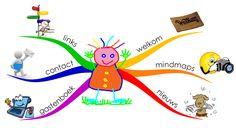 Mindmappen met kleuters, informatieve website met downloads voor mindmaps. Mooi instrument om de ggg in beeld te brengen!