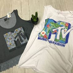 Do you remember when MTV actually showed music videos? We don't either! Come check out our selection of graphic tees and tanks this week!  http://ift.tt/2q3tfHf - http://ift.tt/1HQJd81